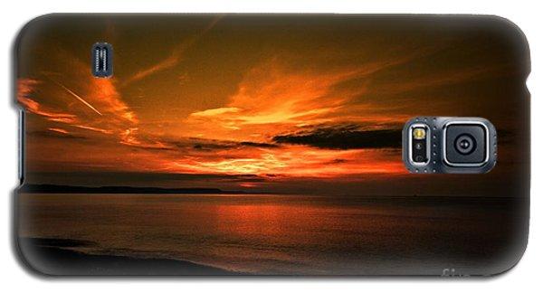 Weymouth  Golden Sunrise Galaxy S5 Case by Baggieoldboy