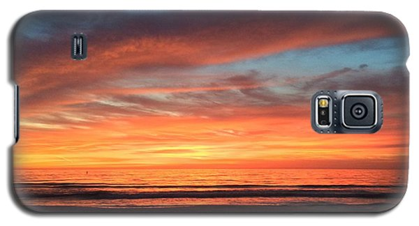 Whale Eye In Sky Sunset St.pete Beach Galaxy S5 Case