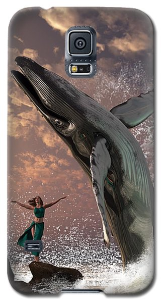 Whale Watcher Galaxy S5 Case
