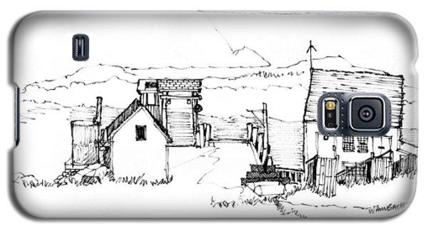 Wharf Monhegan Island 1987 Galaxy S5 Case