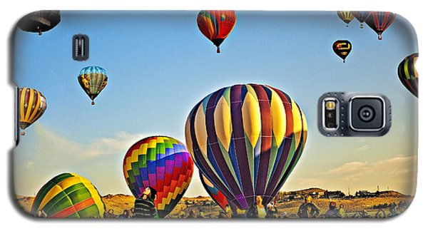 Galaxy S5 Case featuring the photograph What A Sight by Nancy Marie Ricketts
