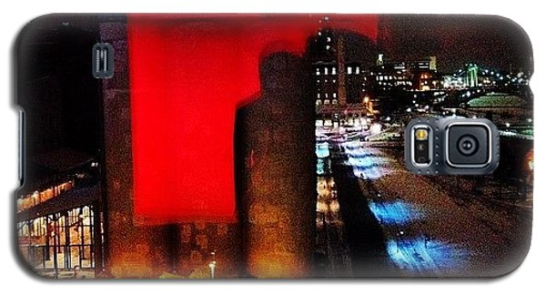 Holiday Galaxy S5 Case - A View From The Guthrie by Heidi Hermes