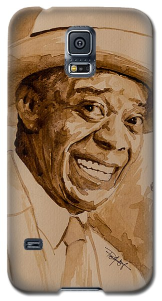 Galaxy S5 Case featuring the painting What A Wonderful World by Laur Iduc