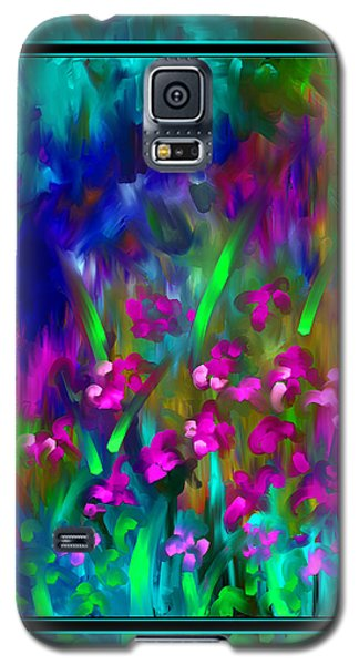 Galaxy S5 Case featuring the painting What A Wonderful World by Steven Lebron Langston
