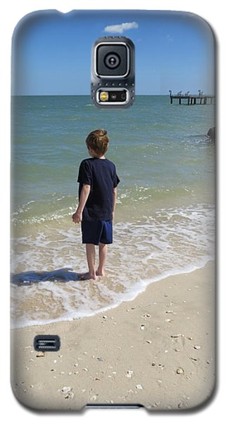 Galaxy S5 Case featuring the photograph What Boys Are Made Of by Ella Kaye Dickey