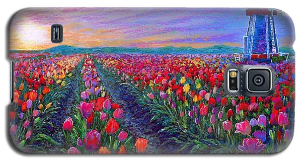 Tulip Fields, What Dreams May Come Galaxy S5 Case