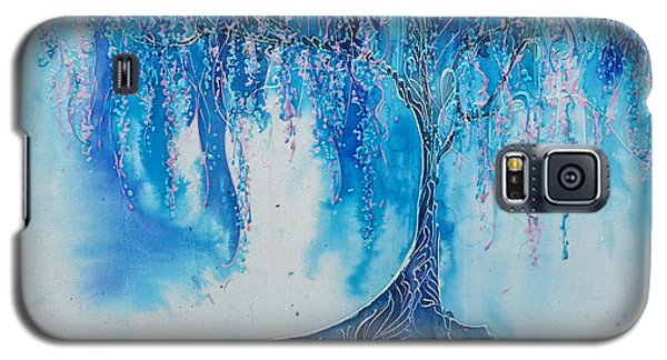 Galaxy S5 Case featuring the painting What Dreams May Come by Christy  Freeman