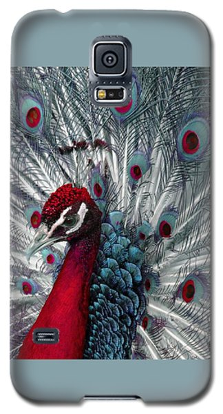 What If - A Fanciful Peacock Galaxy S5 Case by Ann Horn