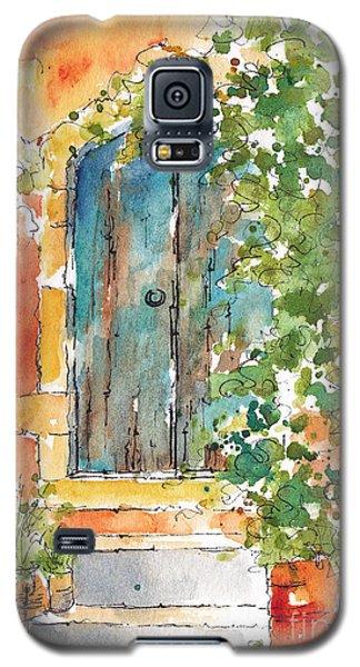 What's Behind That Door? Galaxy S5 Case by Pat Katz