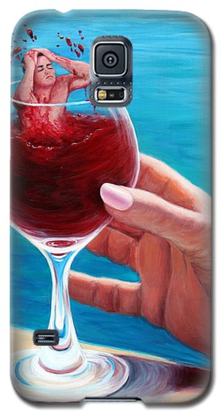 What's In Your Goblet? Galaxy S5 Case by Sandi Whetzel