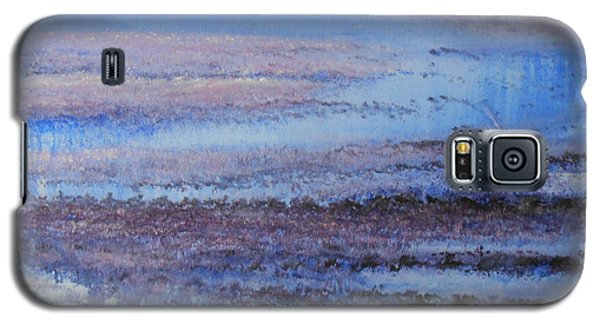 Galaxy S5 Case featuring the painting What's Not Perfect Yet by Jane  See