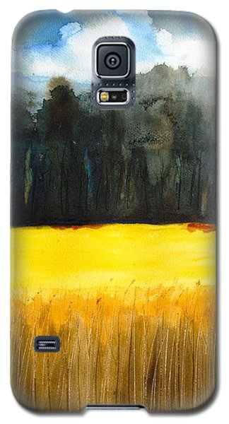 Wheat Field 1 Galaxy S5 Case by Carlin Blahnik