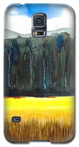 Wheat Field 2 Galaxy S5 Case by Carlin Blahnik