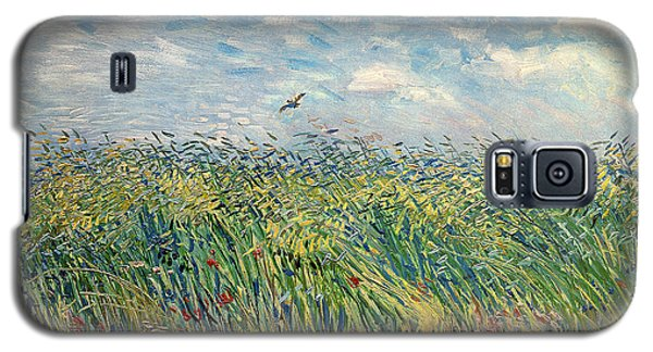 Impressionism Galaxy S5 Case - Wheatfield With Lark by Vincent van Gogh