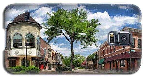 Wheaton Front Street Panorama Galaxy S5 Case