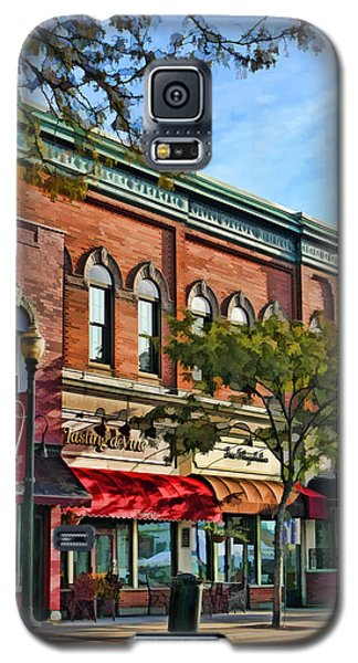 Wheaton Front Street Stores Galaxy S5 Case by Christopher Arndt
