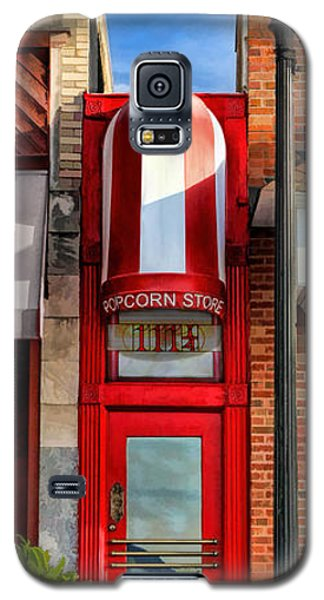 Wheaton Little Popcorn Shop Panorama Galaxy S5 Case