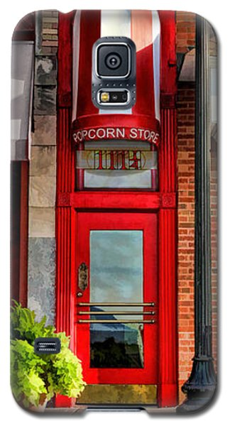 Wheaton Little Popcorn Shop Panorama Galaxy S5 Case by Christopher Arndt