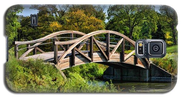Wheaton Northside Park Bridge Galaxy S5 Case by Christopher Arndt