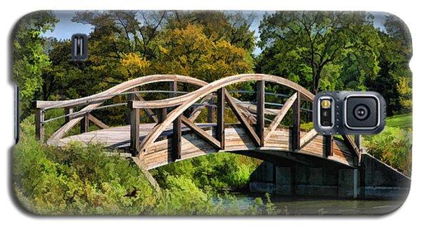 Wheaton Northside Park Bridge Galaxy S5 Case