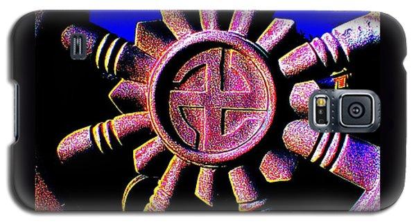 Buddhist Dharma Wheel 1 Galaxy S5 Case by Peter Gumaer Ogden