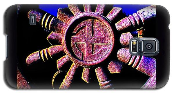Buddhist Dharma Wheel 1 Galaxy S5 Case