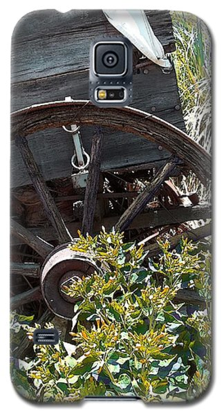 Wheels In The Garden Galaxy S5 Case