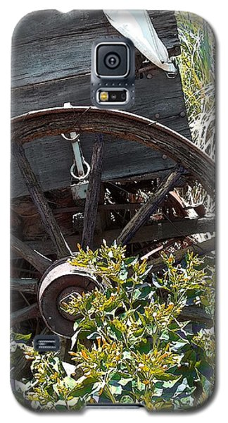 Wheels In The Garden Galaxy S5 Case by Glenn McCarthy Art and Photography