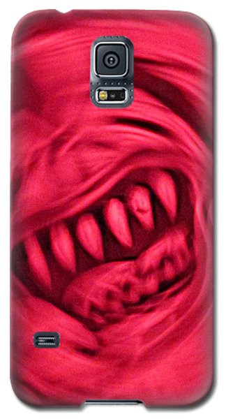 Galaxy S5 Case featuring the photograph When Anxiety Attacks by John King