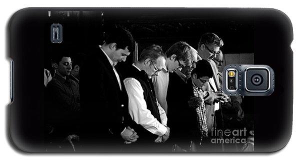 When Men Put God First Galaxy S5 Case