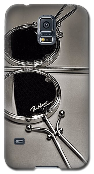 Galaxy S5 Case featuring the photograph When Mirrors Collide by Bob Wall