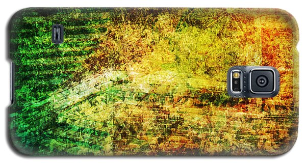 Galaxy S5 Case featuring the mixed media When Past And Present Intersect #1 by Sandy MacGowan