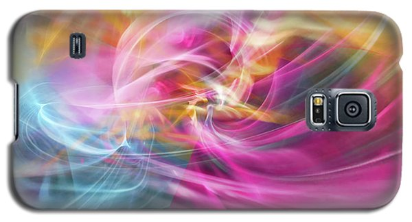 Galaxy S5 Case featuring the digital art When Prayers Enter The Throne Room by Margie Chapman