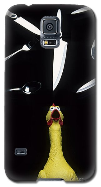 When Rubber Chickens Juggle Galaxy S5 Case