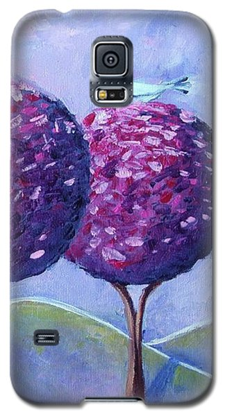 When The Cherry Trees Are Blooming Galaxy S5 Case