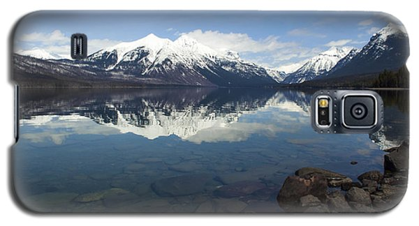 When The Sun Shines On Glacier National Park Galaxy S5 Case