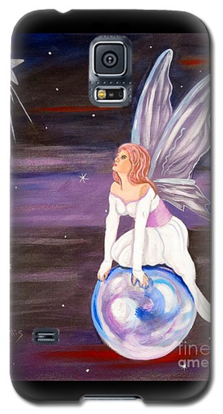 Galaxy S5 Case featuring the painting When You Dream by Phyllis Kaltenbach