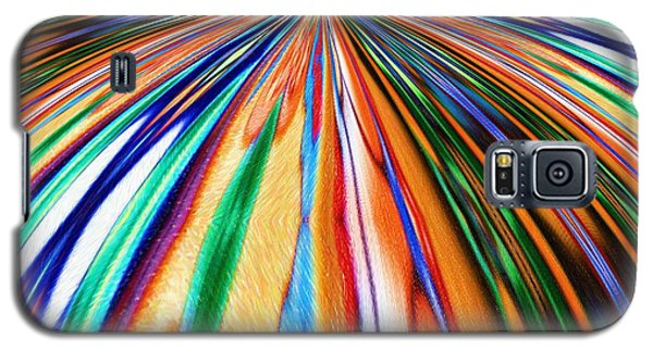 Where It All Began Abstract Galaxy S5 Case by Alec Drake