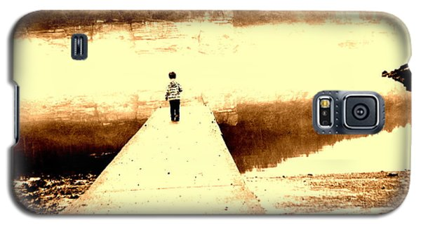 Galaxy S5 Case featuring the photograph Where The Sidewalk Ends by Amy Sorrell