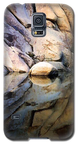 Galaxy S5 Case featuring the photograph Where We Meet by Kathy Bassett