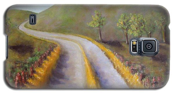 Autumn Road Galaxy S5 Case by Laurie Morgan