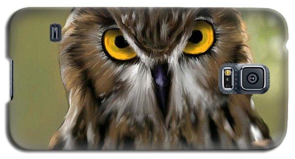 The Gaze Of An Owl - Where's My Dinner?  Galaxy S5 Case