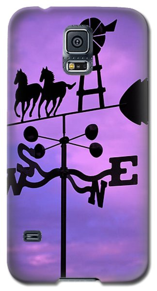 Galaxy S5 Case featuring the photograph Which Way by Mary Beth Landis