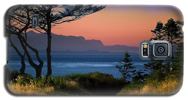 Whidbey Island Sundown Galaxy S5 Case