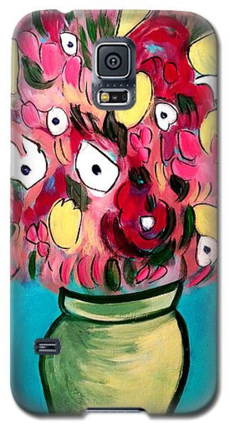 Whimsical Floral Galaxy S5 Case