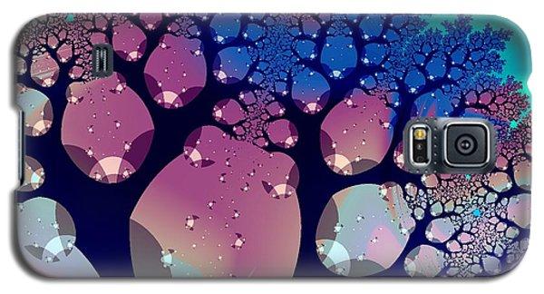 Whimsical Forest Galaxy S5 Case by Anastasiya Malakhova