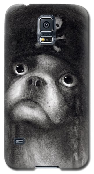 Whimsical Funny French Bulldog Pirate  Galaxy S5 Case