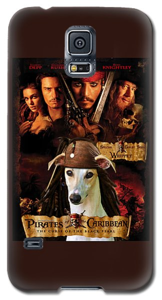 Whippet Art - Pirates Of The Caribbean The Curse Of The Black Pearl Movie Poster Galaxy S5 Case