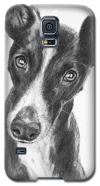 Whippet Black And White Galaxy S5 Case