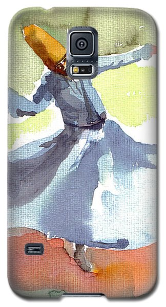 Whirling Dervish Galaxy S5 Case by Faruk Koksal